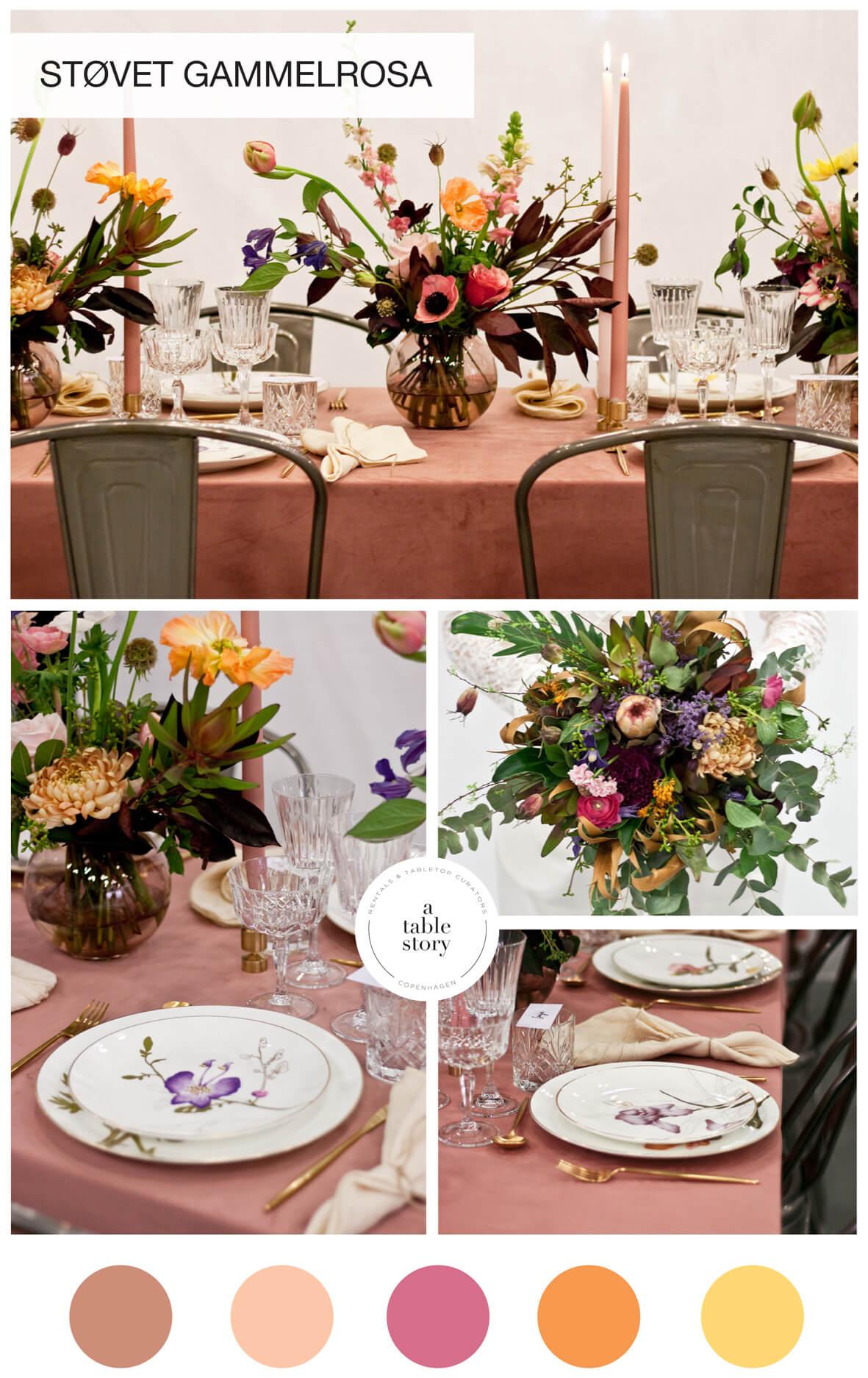 A table story_Serviceudlejning København_blomster bryllup