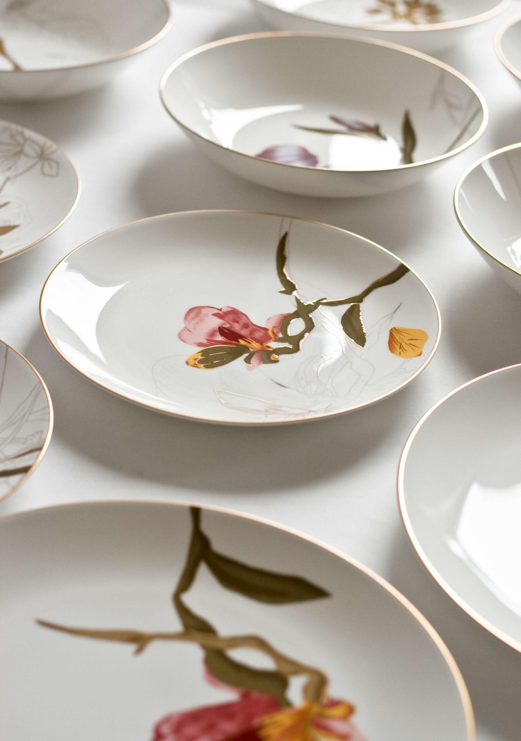Royal Copenhagen_Flora_tallerkener_A table story_serviceudlejning københavn