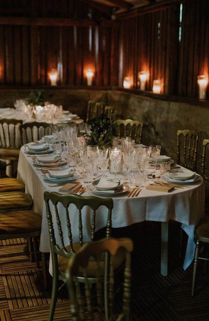 Fortryllende bryllupsbord