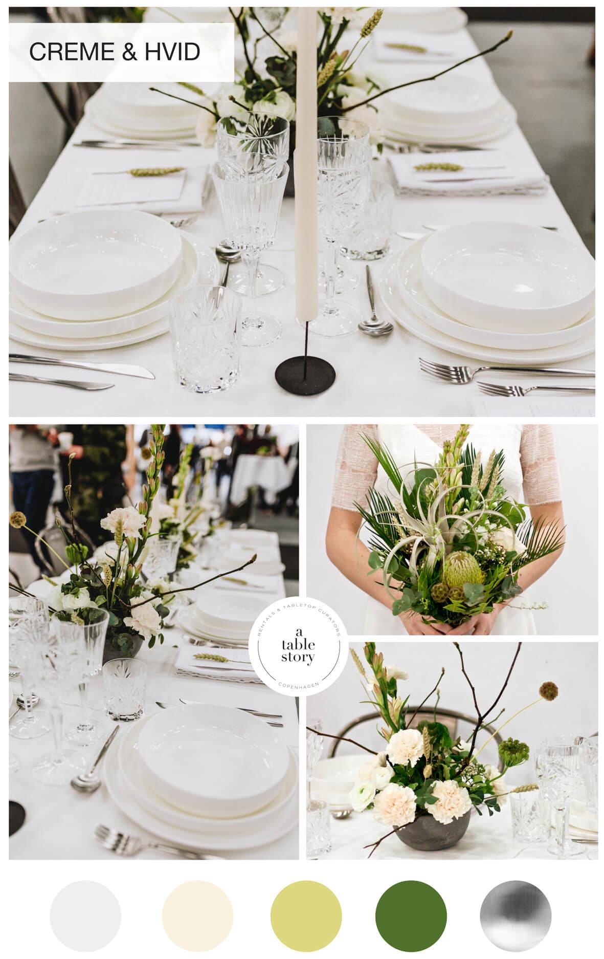 A table story_serviceudlejning København_Blomster til bryllup