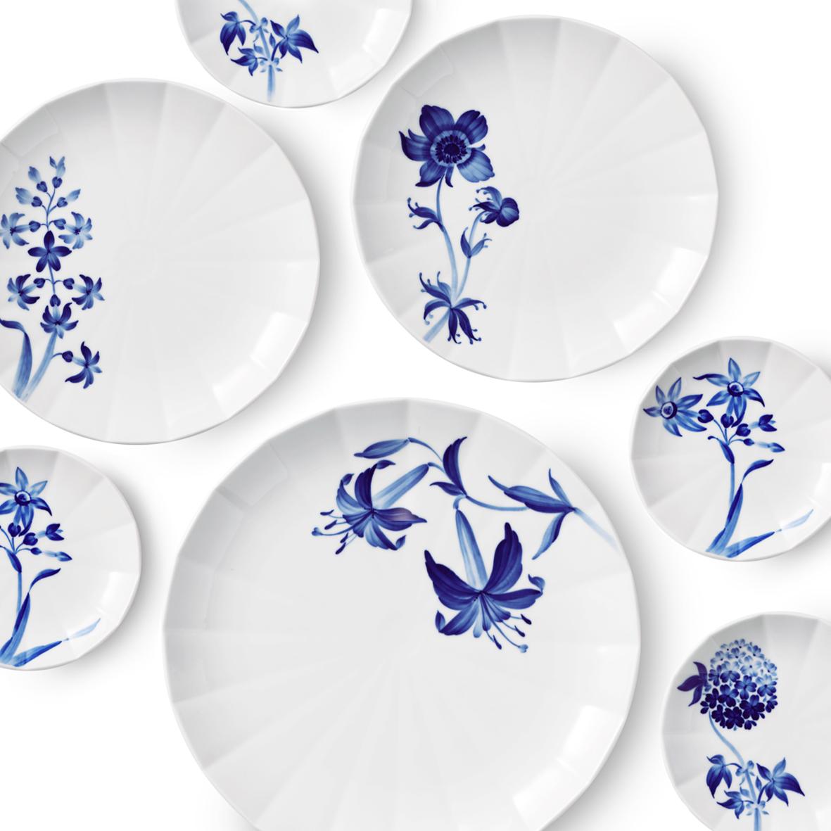 Blomst Royal Copenhagen_flere tallerkener_A table story (1 of 16)