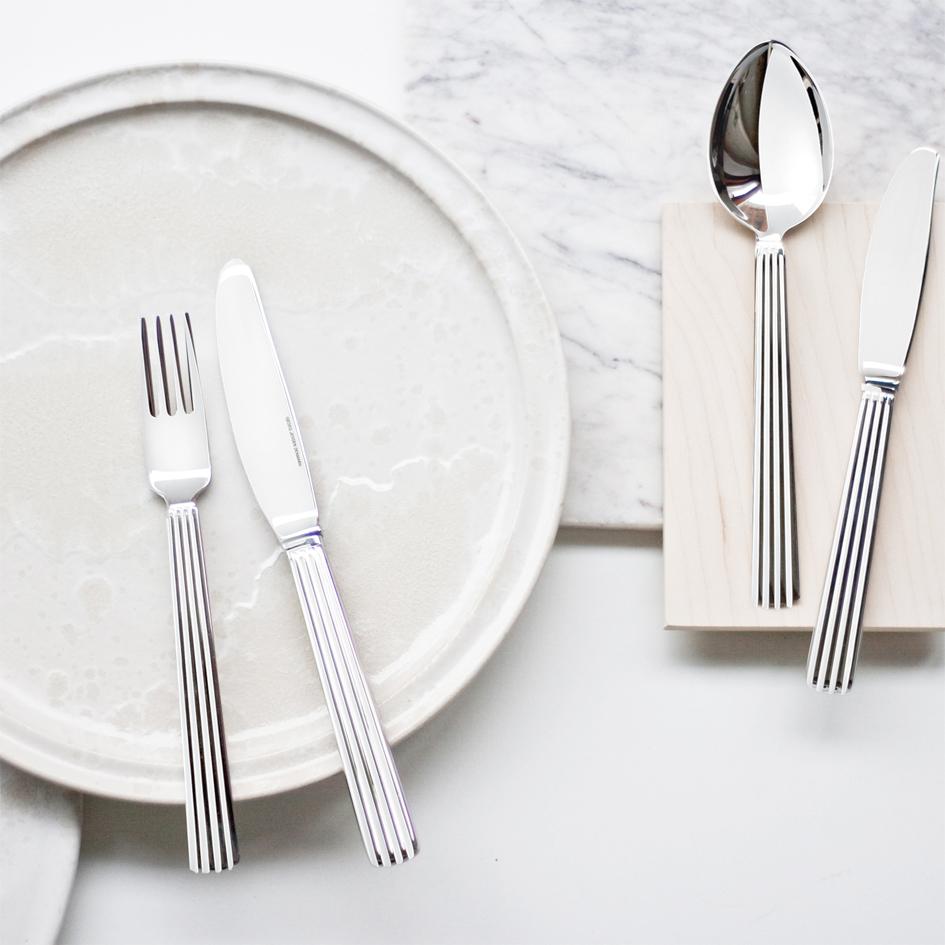 Lej Georg Jensen Bernadotte bestik_A table story_serviceudlejning København