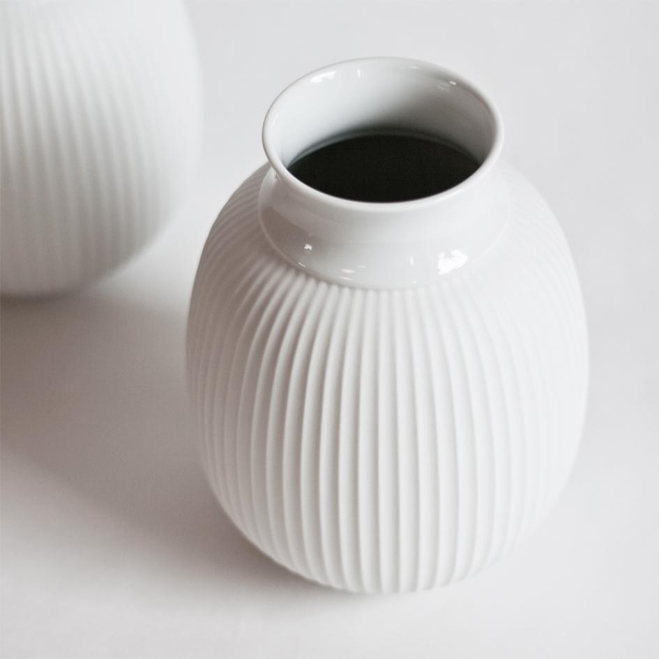 lej curve vase lyngby porcelæn hos a table story
