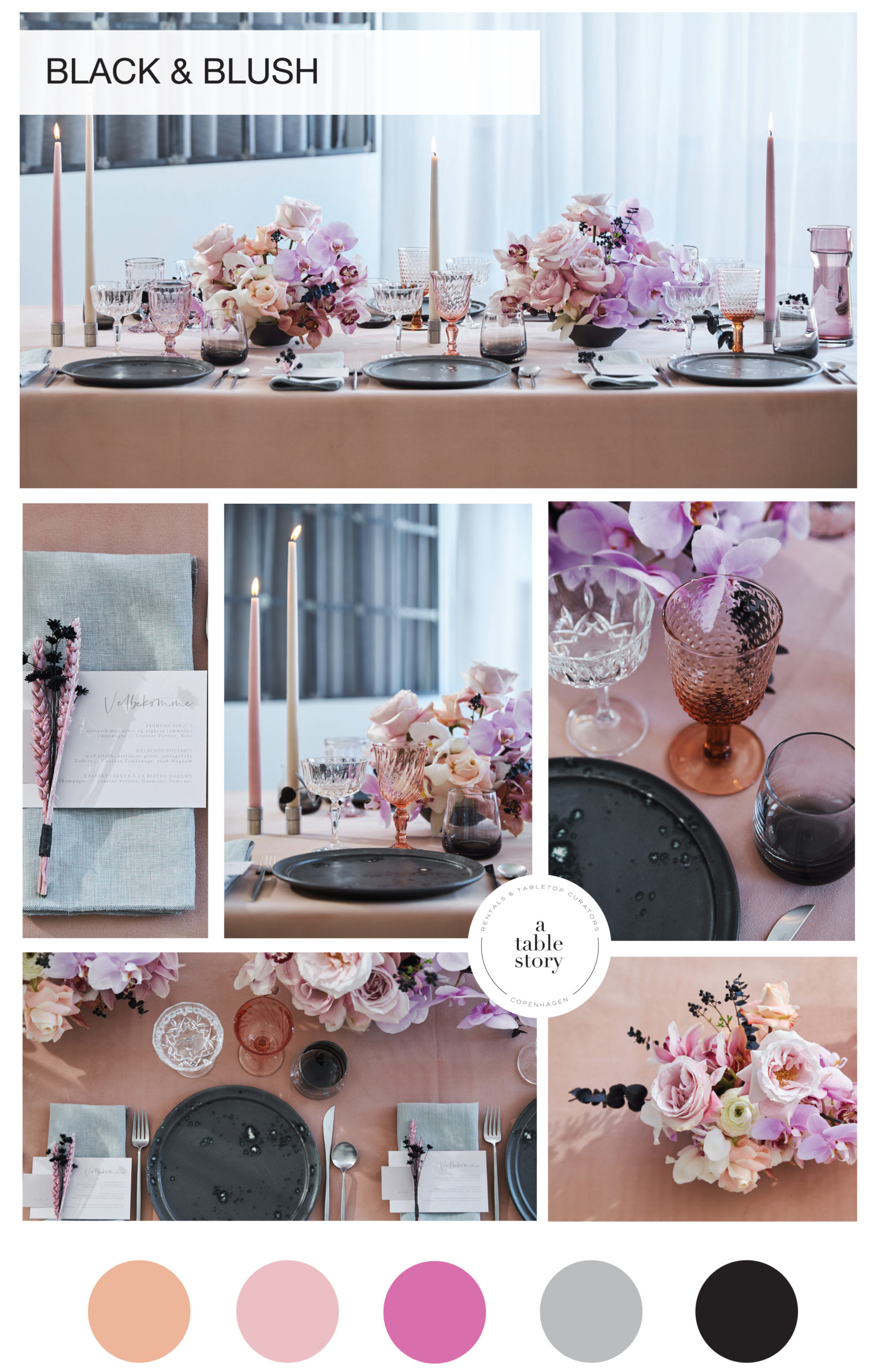 BLACK AND BLUSH_A table story