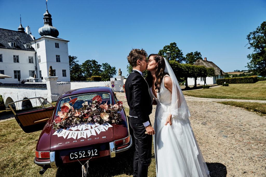 Et bryllup sprængfyldt af personlighed