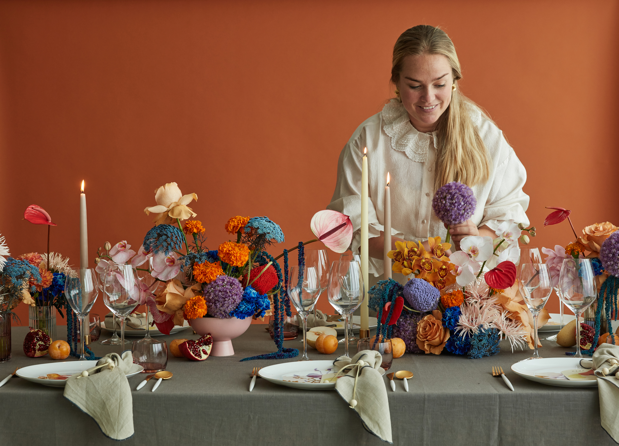 A table story - Funky Flora